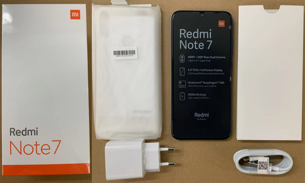 Global Version Xiaomi Redmi Note 7 6.3