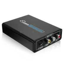 hot 1080P HDMI to AV Composite S-Video CVBS Video Converter HDMI to Composite 3RCA PAL/NTSC Switch for TV PC Blue-Ray DVD