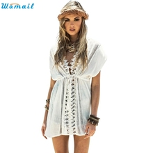 2016 Beach Coverups Beach Cover Up Dress Sarong Bathing Suit Beach tunic Cover-Ups Swimsuit Swimwear Pareo Marc08