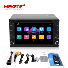 Free shipping car dvd for 2din universal Car DVD Player double din Stereo GPS Navigation car radio with bluetooth radio(China)