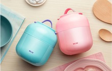 Thermos Lunch Box Kid's Tableware Babys Insulation Soup Pot Stew Kettle Portable Stainless Steel Bowl Vacuum Food Container(China)