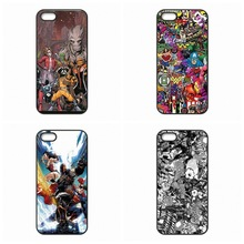 0269 Marvel Sticker Bomb cell phone bags case cover for iphone 4S 5S 5C SE 6S 7 PLUS Samsung galaxy S3 S4 S5 S6 S7 NOTE IPOD 4 5