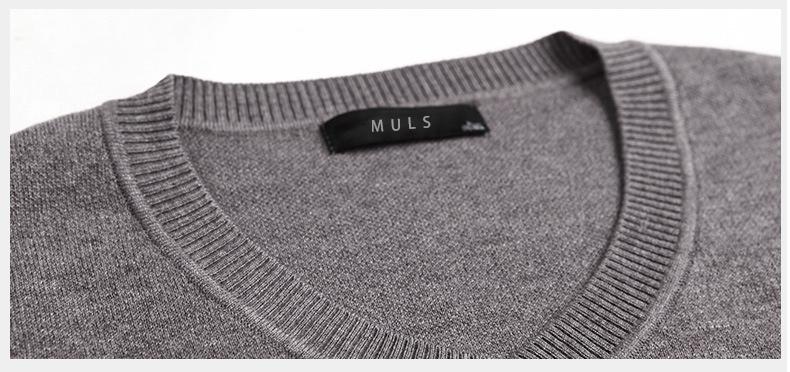 Merino Wool Sweater Pullovers Men V Neck Long Sweater Jumpers Luxury Winter Warm Mercerizing Fleece Male knitwear Autumn Spring-08