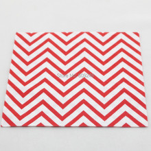80pcs Cheap Vintage Birthday Christmas Wedding Red Chevron Party Paper Napkins Wholesale,3 Days Delivery on Orders over $100