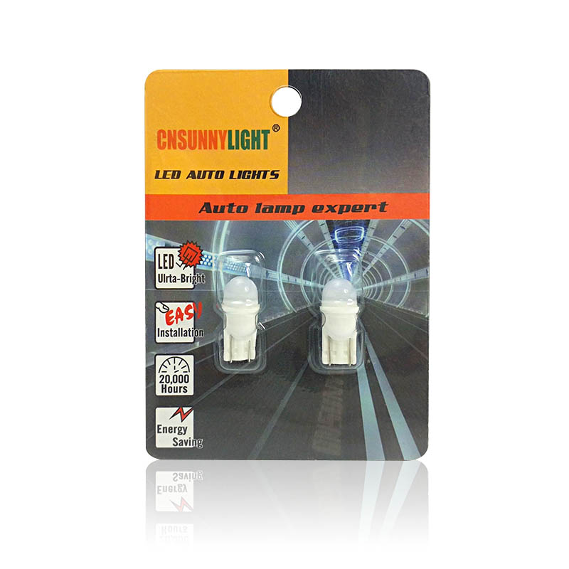 CNSUNNYLIGHT Newest Ceramic Base T10 W5W LED 3030 Car Interior Light Marker Lamp 12V 194 501 Wedge Parking Dome Bulb White 5500K (3)
