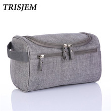 Travel Cosmetic Bag For Make Up Women Men Makeup Cosmetic Cases Wash neceser Toiletry Bag necessaries para mulheres maquiagem(China)