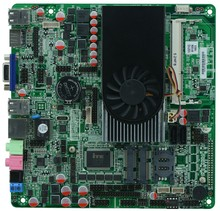 Onboard I3 3217U dual core 1.8GHz Industrial Thin Mini ITX Motherboard With 2HDMI /lLVDS /6*COM(China)