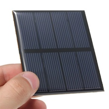 Wholesale 2V 0.6W Polycrystalline Epoxy Solar Panel Mini Solar Cell DIY Solar Module Stored Energy Power 10pcs/lot Free Shipping