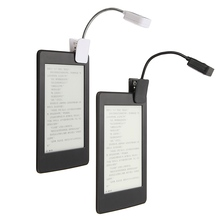 For Kindle For Notebook Reading Light LED Book Light Table Lamp Desk Lamp Mini Flexible Clip On Book DC6V(China)