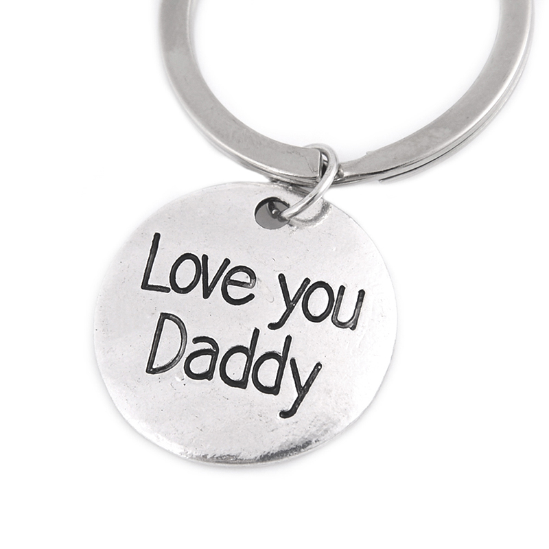 Fashion Hand Tool Keychain,Daddy Keyring Dad Gift Fathers Day Father Keychain uq