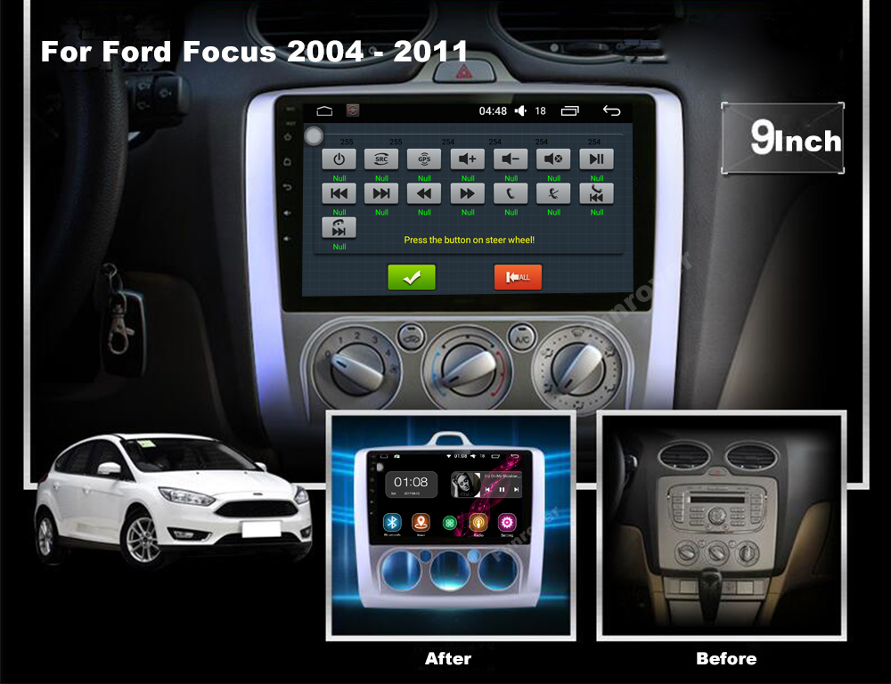 Car DVD GPS for Ford focus