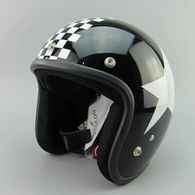 2015new capacete casco vintage retro motorcycle helmet Fit 3 snap bubble shield visor shield glass open face helemt glasses<br><br>Aliexpress