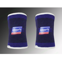 1 Pair Ailsports High Quality Purple Sports Wristband Cotton Wristband Sports Sweatband Wristband Wrist Protective(China)