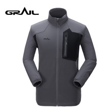 GRAIL Men Outdoor Sport jacket m Field Jacket Waterproof Superdry Coat for Camping Hiking 3513A(China)