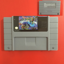 High Quality 16 Bit Turtles IV Turtles In Time NTSC Big Gray Game Card For USA Version Game Player(China)