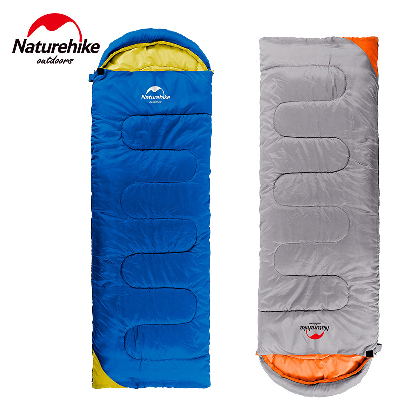 Naturehike Outdoor travel Envelope sleeping bag the spring and autumn period and the thermal field lightweight sleeping bags<br>