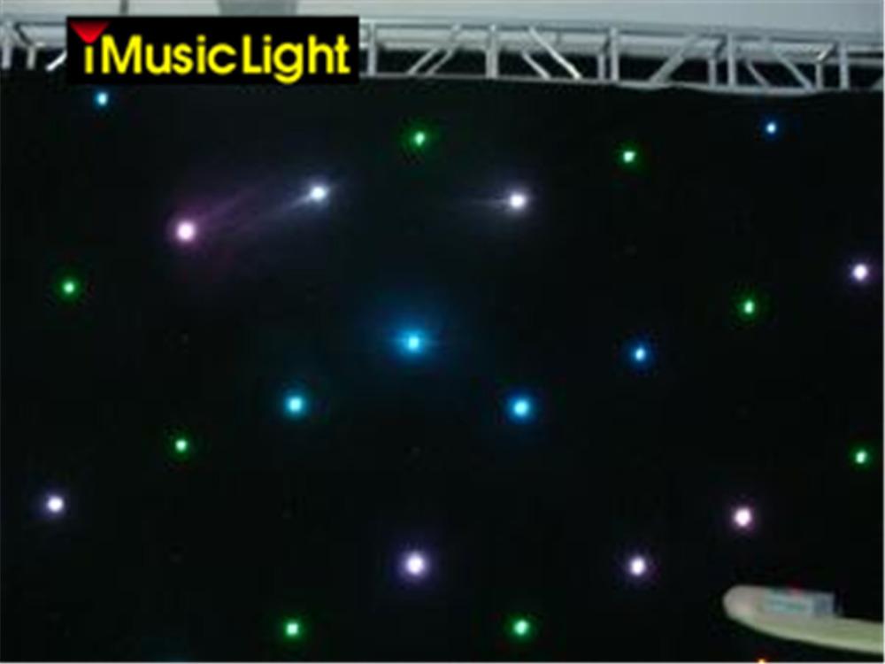 2x4m-Multi-Color-Decoration-RGB-Star-Cloth-Curtain-20-Programs-Automatic-Music-DMX