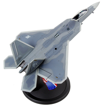 New 1/72 Scale Military Model Toys F-22 Raptor Fighter Diecast Metal Plane Model Toy For Collection Gift Decoration New In Box