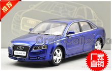 Blue Car Model New Audi A4L A4 2006 2005 1:18 Classic Luxury Vehicle Out Of Print
