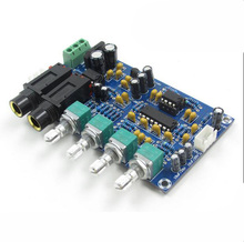 Dual power AC12V Kara OK reverb plate reverb microphone amplifier board K song equipment