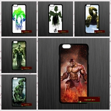 The Incredible Hulk Robert Bruce Cover case for iphone 4 4s 5 5s 5c 6 6s plus samsung galaxy S3 S4 mini S5 S6 Note 2 3 4 DE0286(China)