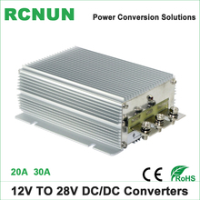 No-isolated 12 Volt to 28 Volt 30A DC-DC Step Up Converter 12V to 28V 20Amp Boost Voltage Regulator Communication Vehicles Power(China)