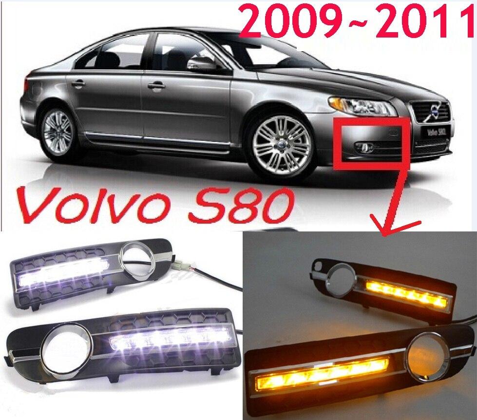 Volv S80 daytime light;2009~2013, Free ship!LED,S80 fog light,optonal:1pcs Left/1pcs Right;XC90,XC60,S60,S80<br>
