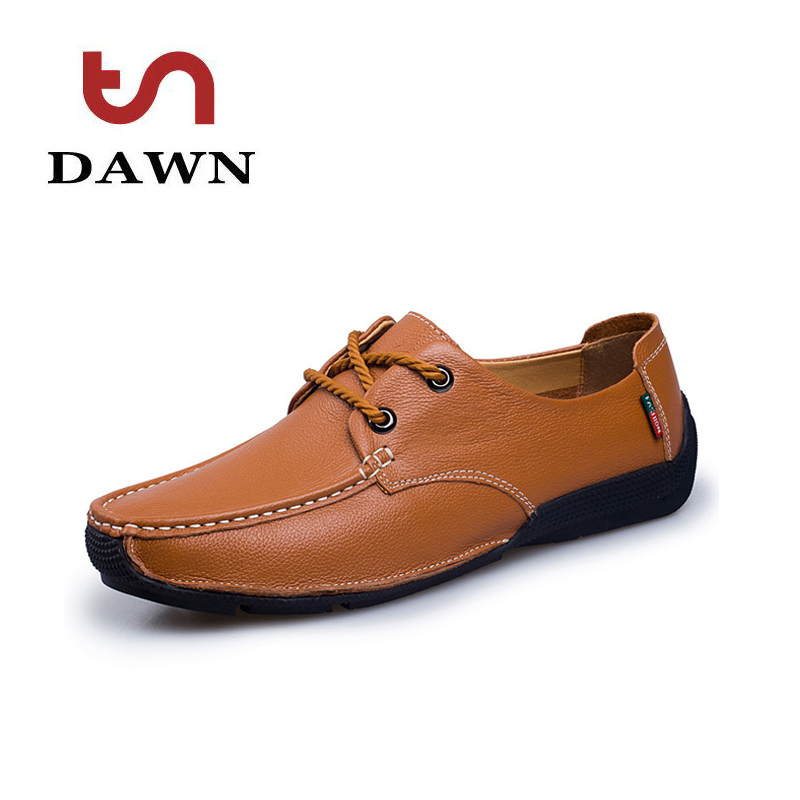 Top Quality mens shoes genuine leather business man flat shoes soft bottom breathable lace up shoes lightweight casual loafers<br><br>Aliexpress