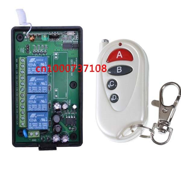 AC110V 220V 4CH lighting remote control switch,Household appliances remote control switch<br><br>Aliexpress