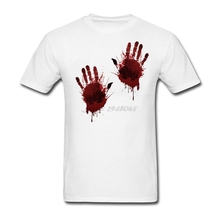 Men's Blood Hands T Shirts Sites Greek Cotton t-shirt Mens Clothing Top Sale