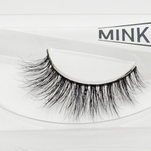 Visofree 3D Mink Eyelashes Upper Lashes 100% Real Mink Strip Eyelashes Handmade Crossing Mink Eye Lashes Extension A13