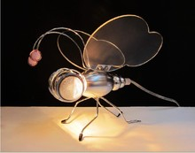 The new listing Dragonfly desk lamp bedside study room lamp light personality of children special offer table lamps light ZA8309(China)