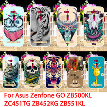 TAOYUNXI Mobile Phone Cases For ASUS ZenFone Go ZB500KL ZC451TG ZB452KG ZB500KG TV ZB551KL Z00SD ZB450KL Animal Back Covers Skin(China)