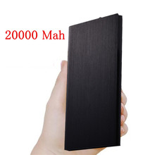 20000mAh Portable Power Bank portable Charger Universa Backup power charger 20000 MAH Powerbank External Phone Battery