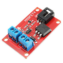 1PC DC 1 Channel 1 Route IRF540 MOSFET Switch Module For Arduino Motor Drives Lighting Dimming Integrated Circuits(China)