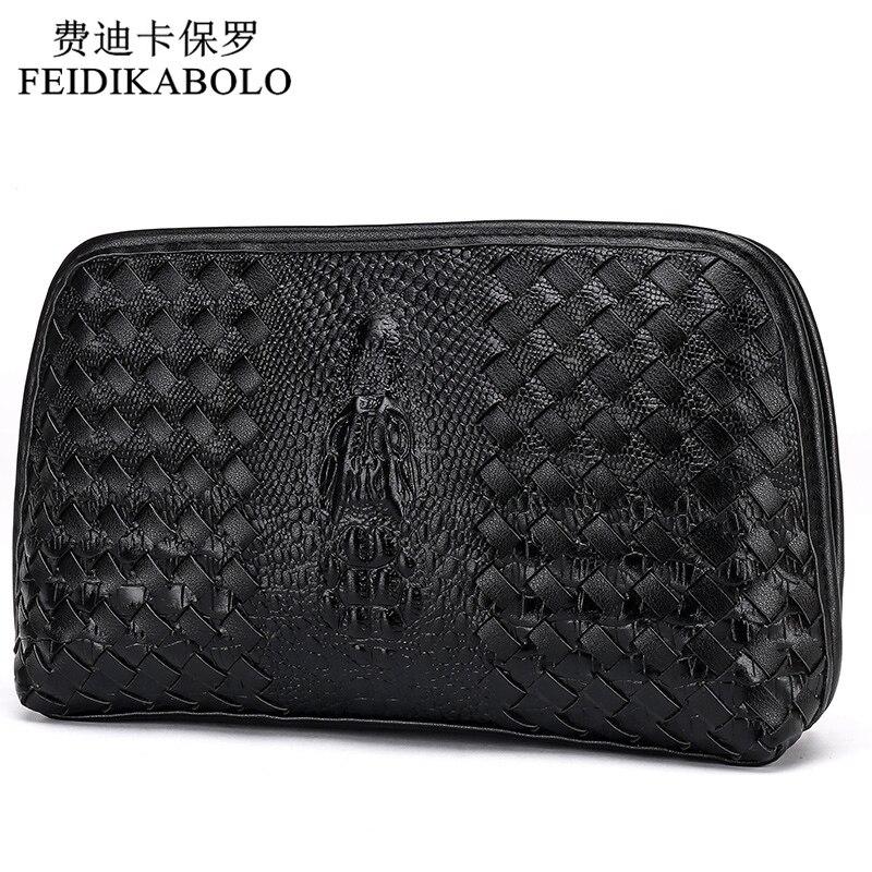 Crocodile Pattern Wallet Brand Handbag PU Leather Purse Men Fashion Clutch Mens Wallets Black And Coffee Carteira Long Wallet<br><br>Aliexpress
