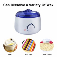 Hot Wax Handle Pot Waxing Heater Warmer Hair Removal Depilatory Paraffin Beauty(China)