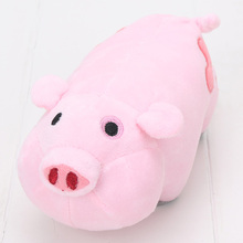 Hot Movie Gravity Falls Plush Toy Dipper Mabel Pink Pig Waddles Stuffed Soft Dolls Great Gift 16cm Long Approx(China)