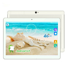 2017 New 10 inch 4G LTE Tablets Quad Core  Android 6.0 RAM 2GB ROM 32GB Dual SIM Cards 1280*800 IPS HD 10.1 inch Tablet PCs+Gifs