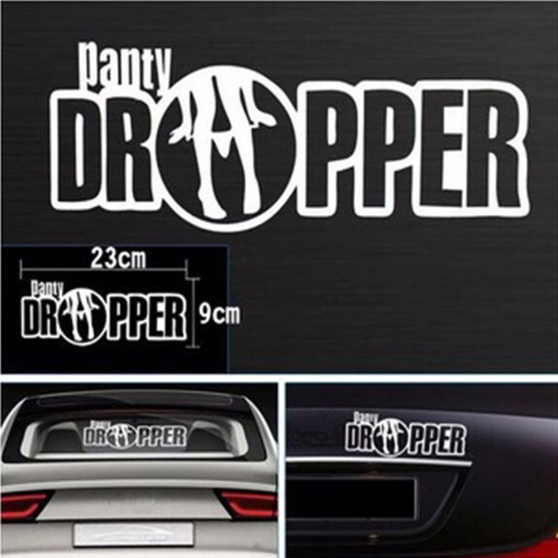 Cool Panty Dropper Decal Vinyl Sticker Racing Car Drift Beauty Body Auto Decor