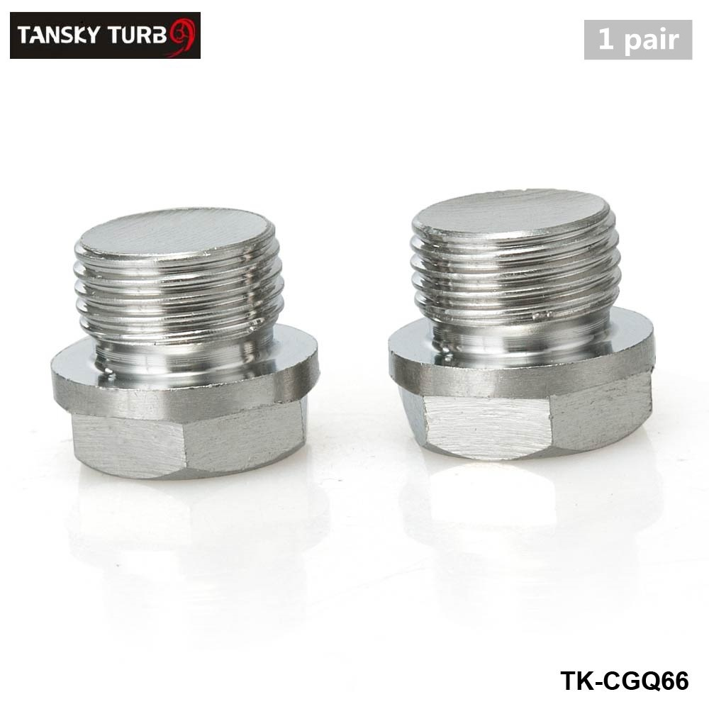 TANSKY-JDM Performance 18mm Stainless Steel O2 Sensor Ports Plug TK-CGQ66