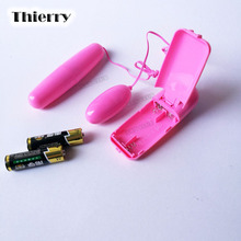 Thierry Mini Vibrator Bullet Remote Control Vibrating Egg Vibrator Clitoral G-Spot Stimulators  Sex Toys vibrators for women