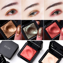 Long Wear Creamy Eyeshadow Vibrant Pigment Makeup Eye Shadow Palette 8 Colors Waterproof Cosmetic