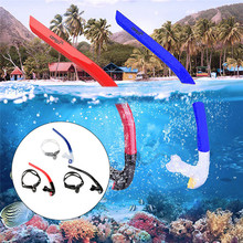COPOZZ Front Swimming Breathing Tube Swimming Water Sports Equipments Dry Snorkel Tube Underwater Diving Snorkeling Accessories(China)