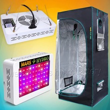 300W Led Grow Light Veg Flower Plant + 70x70x160cm Indoor Grow Tent Kit(China)