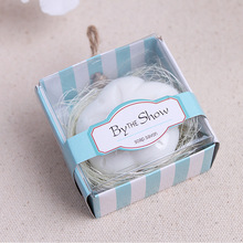 20pcs/lot Bride Shower Handmade Scented Soap Wedding Gifts Souvenirs Flower Shape Soap Gift for Guests