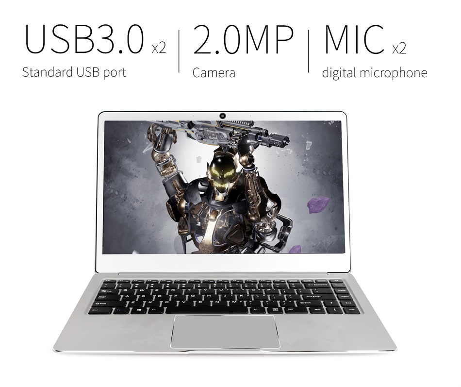 Jumper EZbook 3L Pro Business Laptop Windows 10 Intel Apollo Lake N3450 6GB RAM 64GB eMMC Display Dual Band Wifi USB 3 notebook (12)