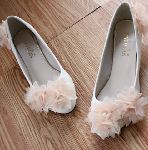 Sweet pink white wedding shoes for woman flower design TG453 low heel female ladies pink party proms shoes custom hand made<br><br>Aliexpress