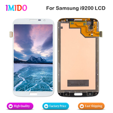 Best Price For Samsung Galaxy Mega 6.3 i9200 i9205 LCD Display Touch Screen Digitizer Assembly Repair Parts Free shipping