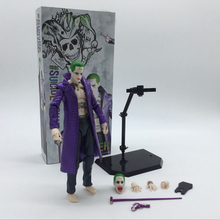 IN STOCK uicide Squad Harley Quinn The Joker With Screwdriver AND Bracket PVC Action Figure Model Toy 16cm